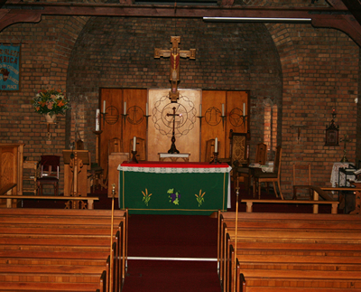 Anglican Church, St Oswald's, St Oswald's Church Milnerton